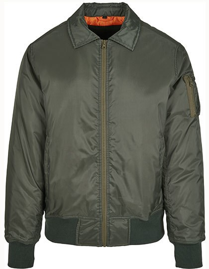 Build Your Brand - Collar Bomber Jacket
