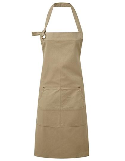 Premier Workwear - Calibre Heavy Cotton Canvas Pocket Apron