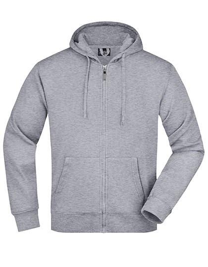 James+Nicholson - Men`s Hooded Jacket