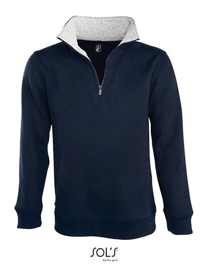 SOL´S - Men Sweat Shirt Scott 1/4 Zip