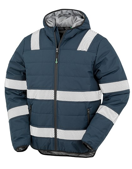 Result Genuine Recycled - Recycled Ripstop Padded Safety Jacket