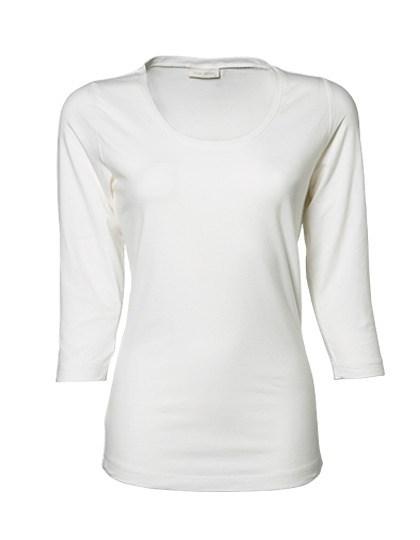 Tee Jays - Womens Stretch 3/4 Sleeve Tee