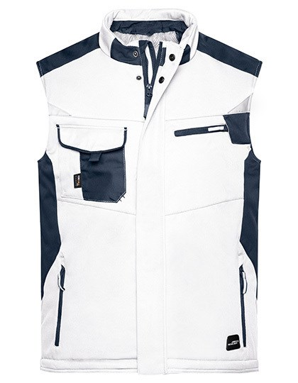 James+Nicholson - Craftsmen Softshell Vest -STRONG-