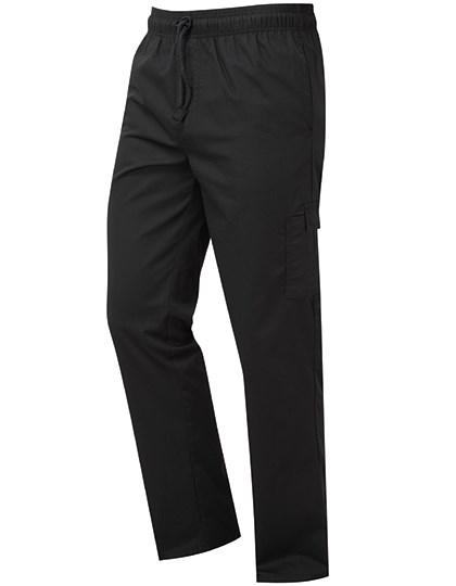 Premier Workwear - Essential Chefs Cargo Pocket Trousers