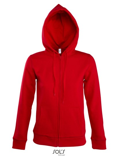SOL´S - Women Hooded Zipped Jacket Seven