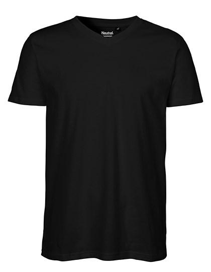 Neutral - Men`s V-neck T-Shirt