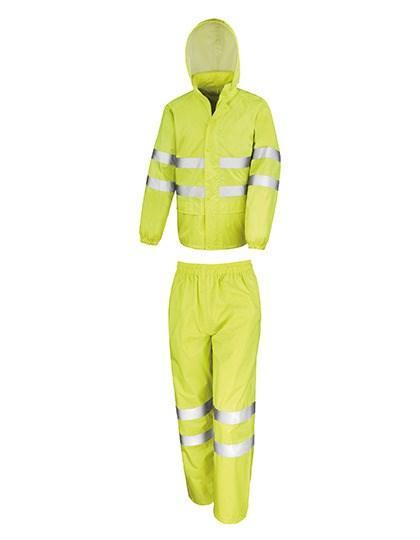 Result Safe-Guard - High Vis Waterproof Suit