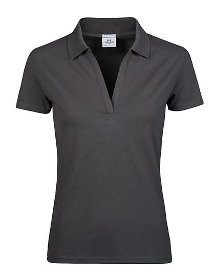 Tee Jays - Womens Luxury Stretch V-Neck Polo