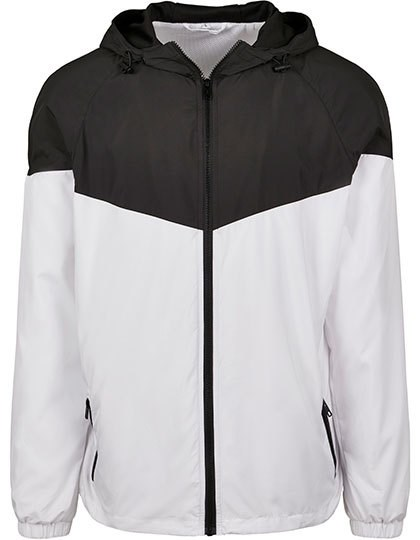 Build Your Brand - 2-Tone Tech Windrunner