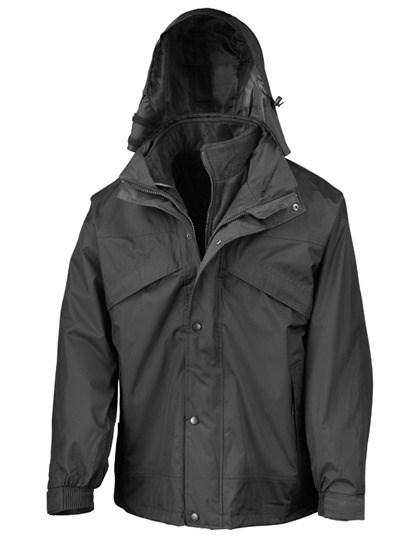 Result - 3-in-1 Zip & Clip Jacket
