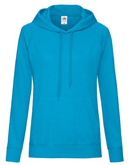 Fruit of the Loom - Ladies Lightweight Hooded Sweat