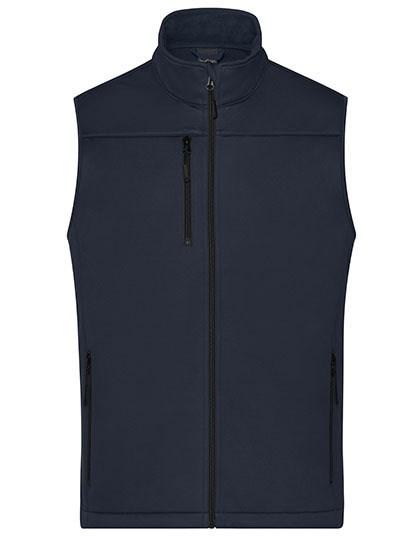 James+Nicholson - Men's Softshell Vest