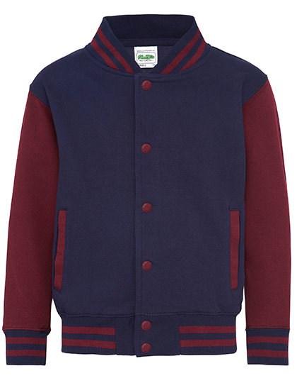 Just Hoods - Kids` Varsity Jacket