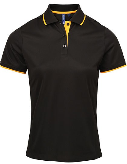 Premier Workwear - Ladies` Contrast Coolchecker® Polo