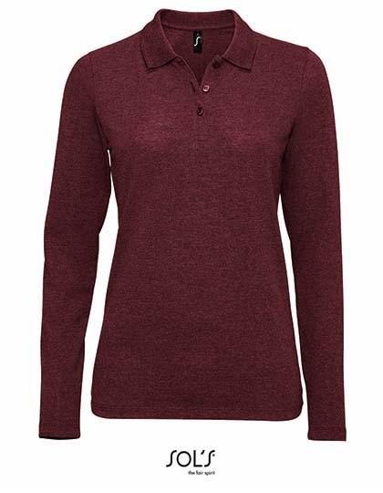 SOL´S - Women`s Long-Sleeve Piqué Polo Shirt Perfect