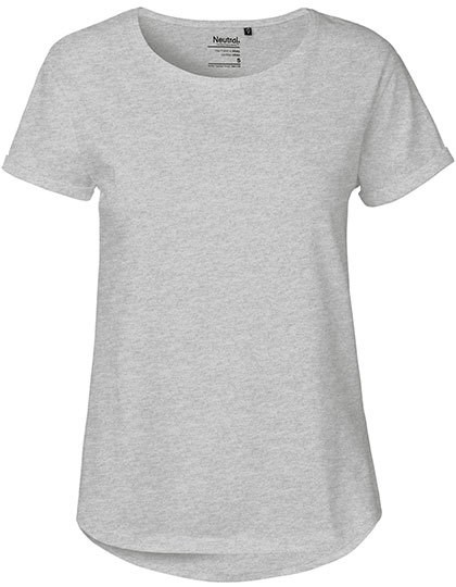 Neutral - Ladies` Roll Up Sleeve T-Shirt