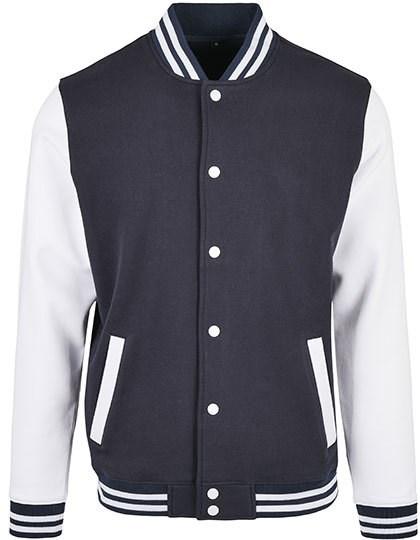 Build Your Brand Basic - Basic College Jacket