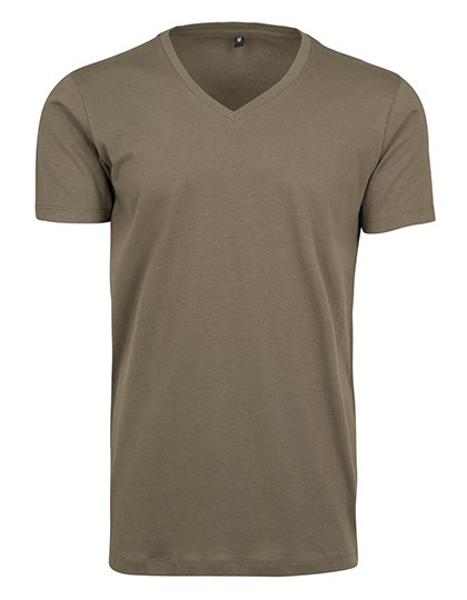 Build Your Brand - Light T-Shirt V-Neck