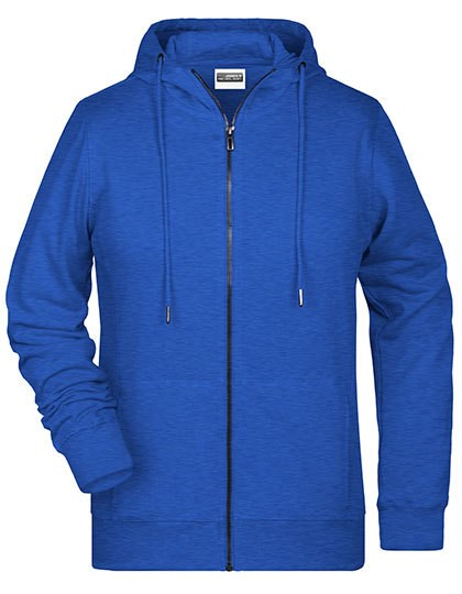 James+Nicholson - Ladies` Zip-Hoody