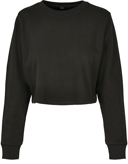 Build Your Brand - Ladies Terry Cropped Crew