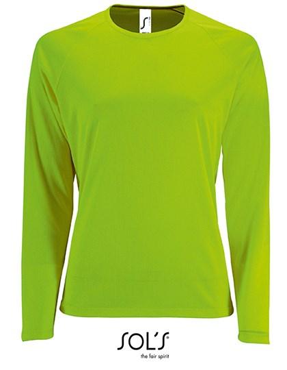 SOL´S - Women`s Long-Sleeve Sports T-Shirt Sporty