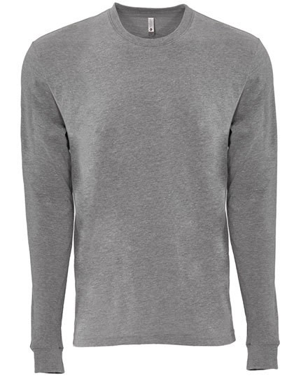 Next Level Apparel - Unisex Sueded Long Sleeve Crew-T