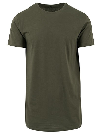 Build Your Brand - Shaped Long Tee