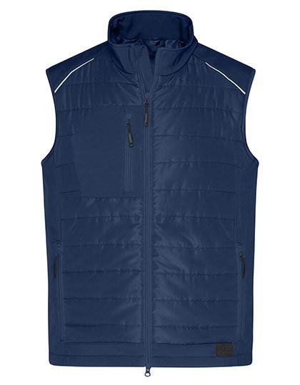 James+Nicholson - Men's Hybrid Vest