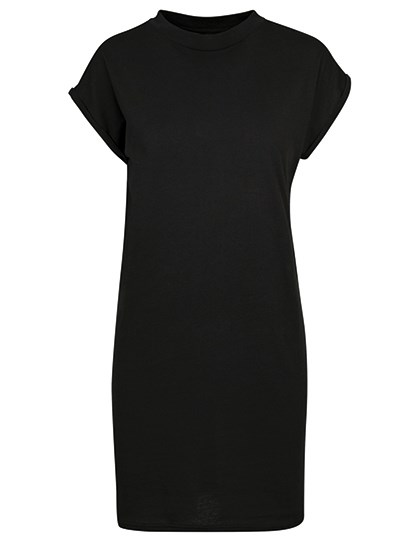 Build Your Brand - Ladies Turtle Extended Shoulder Dress