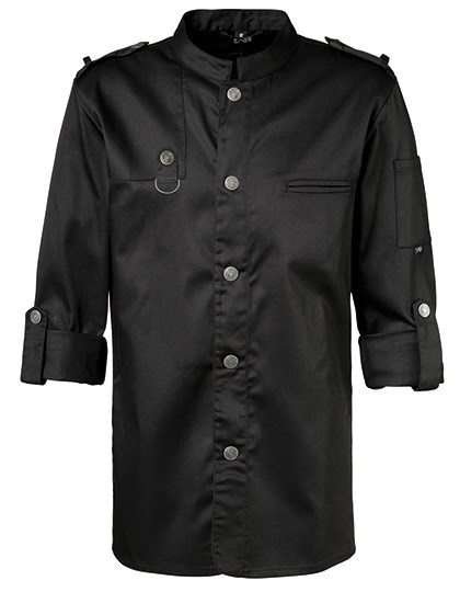 Exner - Chefs Jacket Bikerstyle with Epaulettes