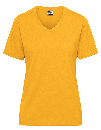 James+Nicholson - Ladies' BIO Workwear T-Shirt