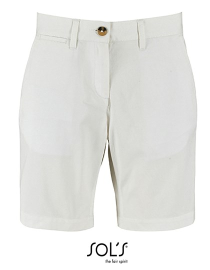 SOL´S - Women`s Chino Bermuda Shorts Jasper