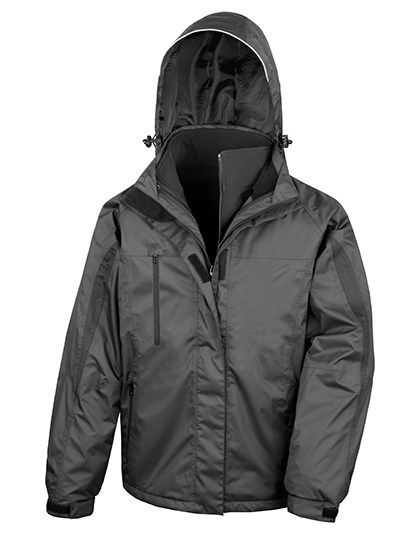 Result - Men`s 3-in-1 Journey Jacket with Soft Shell inner