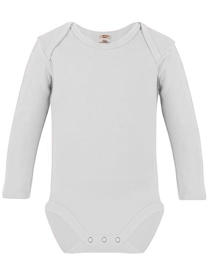Link Sublime Textiles - Long Sleeve Baby Bodysuit Polyester