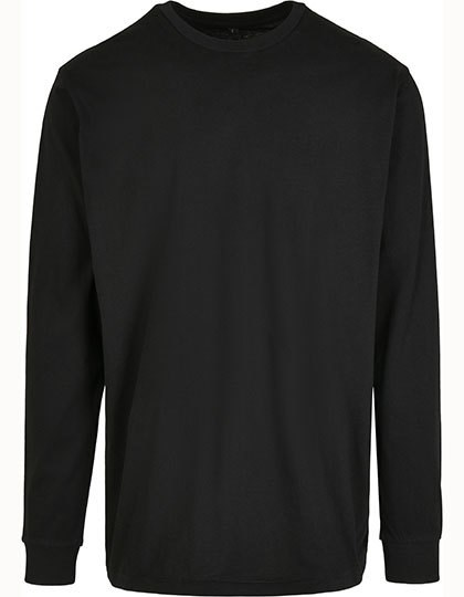 Build Your Brand - Organic Longsleeve with Cuffrib