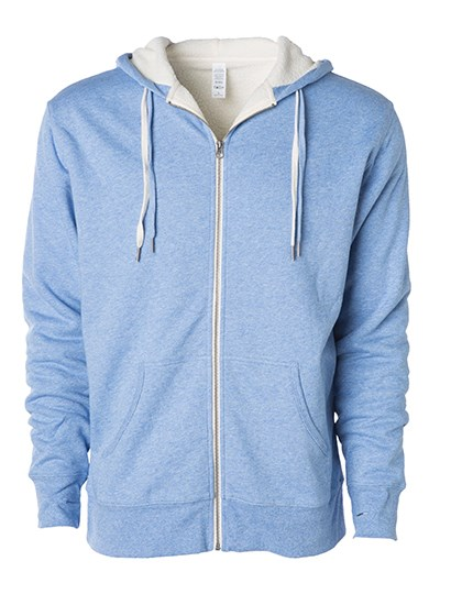 Independent - Unisex Sherpa Lined Zip Hooded Jacket