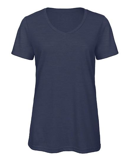 B&C - V-Neck Triblend T-Shirt /Women