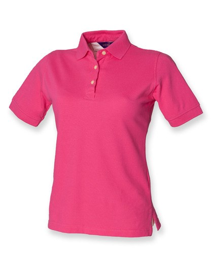 Henbury - Ladies` Classic Cotton Piqué Polo Shirt