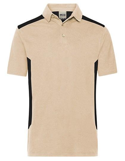 James+Nicholson - Men's Workwear Polo -STRONG-