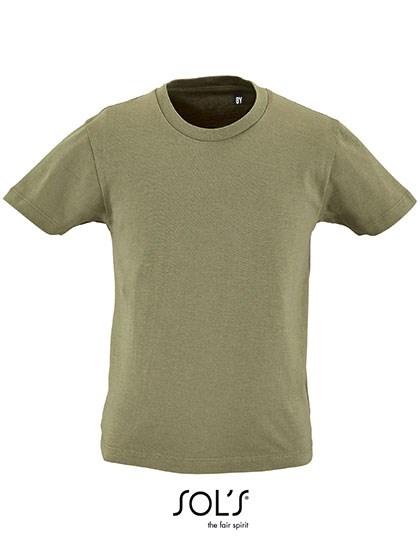 SOL´S - Kids` Round Neck Short-Sleeve T-Shirt Milo