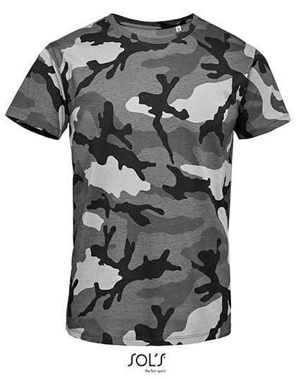 SOL´S - Men`s Camo T-Shirt