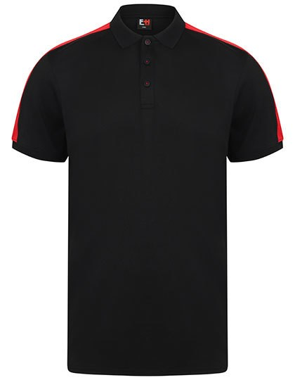 Finden+Hales - Adults` Contrast Panel Polo