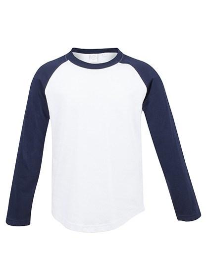 SF Minni - Kids` Long Sleeved Baseball T