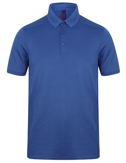 Henbury - Men´s Slim Fit Stretch Polo Shirt + Wicking Finish