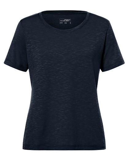 James+Nicholson - Ladies`Slub T-Shirt