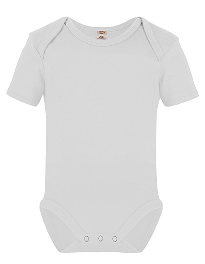 Link Sublime Textiles - Short Sleeve Baby Bodysuit Polyester