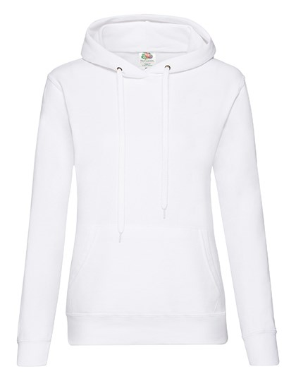Fruit of the Loom - Ladies Classic Hooded Sweat