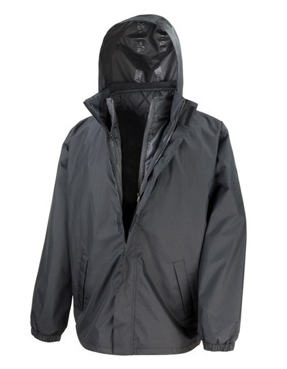 Result Core - 3-in-1 Jacket with Quilted Bodywarmer