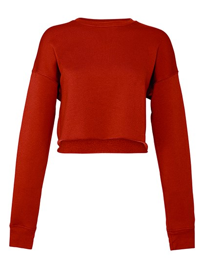 Bella - Women´s Cropped Crew Fleece