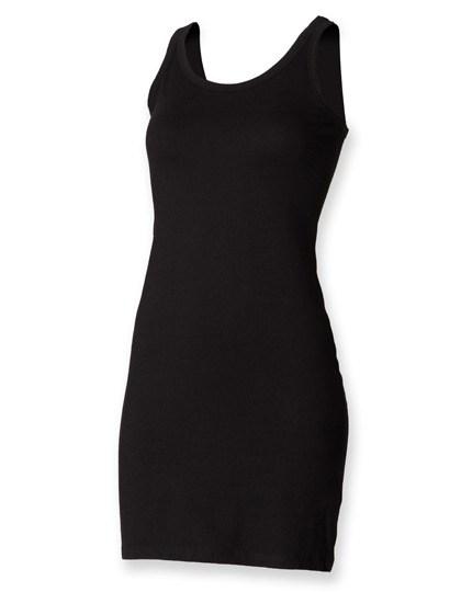 SF Women - Women`s Stretch Vest Dress